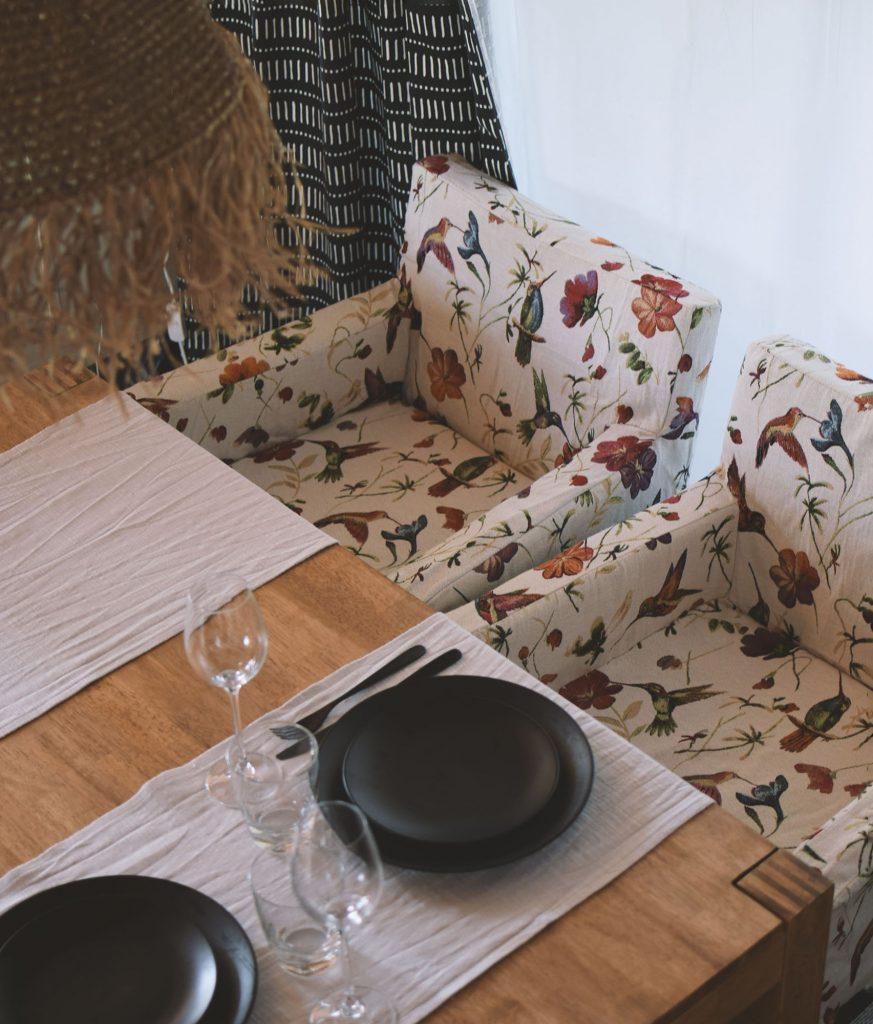 IKEA Nils armchair cover