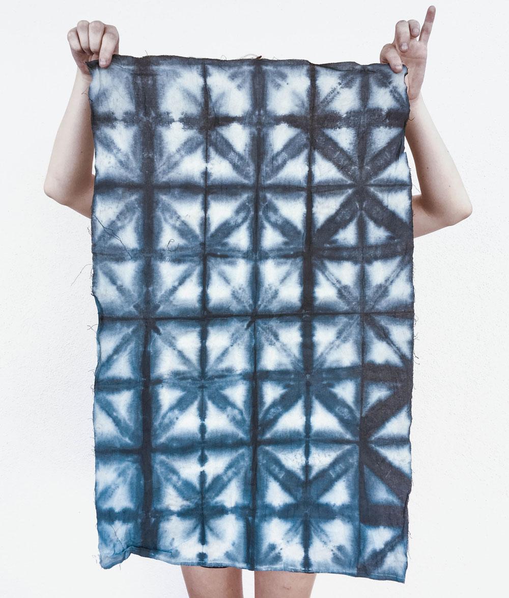 DIY Shibori Fabric dye
